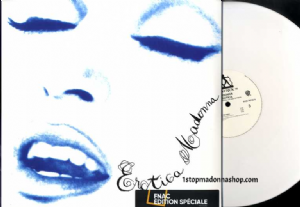 EROTICA - OFFICIAL FRANCE LIMITED EDITION WHITE VINYL 2-LP